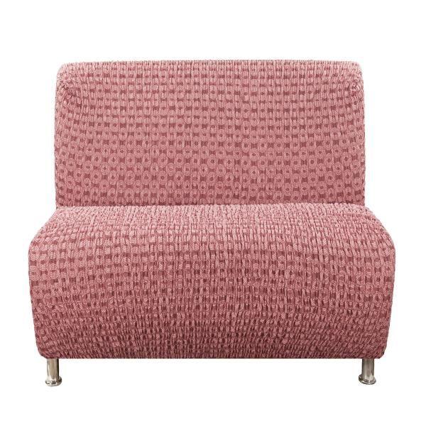 Чехол на кресло без подлокотников Сиена Сатурно бордовый
