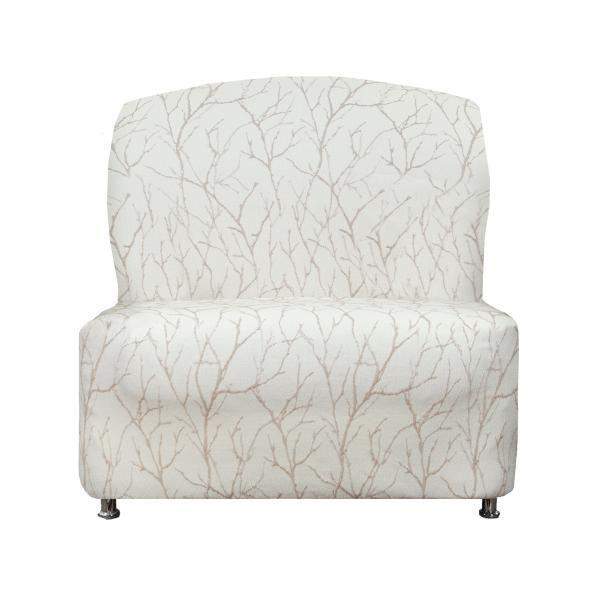 Ванесса Магнолия. Чехол на кресло без подлокотниковВанесса<br>Изделие выполнено в нежных кремовых тонах. Изделие выполнено в нежных кремовых тонах.<br>