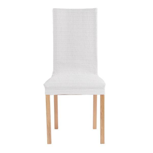 Чехол на стул со спинкой 40 см Акари Светло-серый