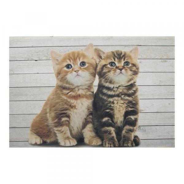 """Коврик Еврочехол 75х50 см Придверный коврик """"Британские короткошерстные котята"""" от Еврочехол"""