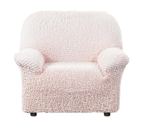 Чехол на кресло Микрофибра Персиковый