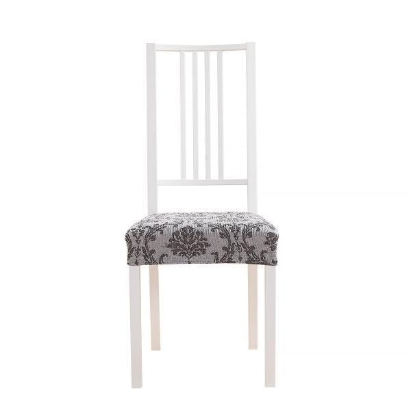 Мадрид Серый. Чехол на сиденье стула (2 штуки)Мадрид<br><br>