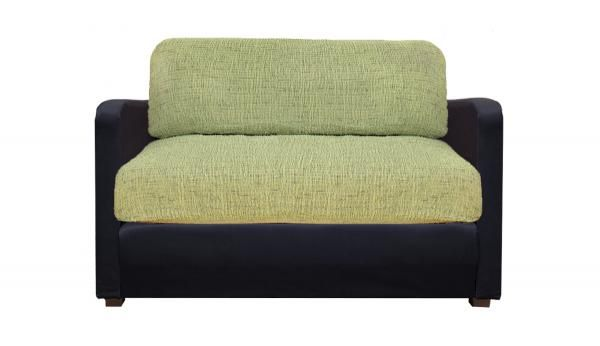 Купить со скидкой Чехол на подушки 2-х местного дивана  (2 штуки) Плиссе Фисташковый