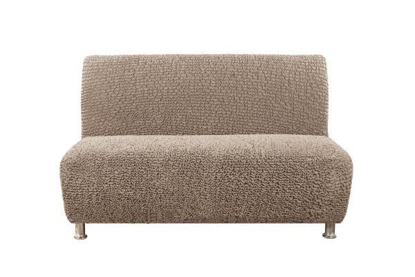 Чехол на 3-х местный диван без подлокотников Беллини Бежевый