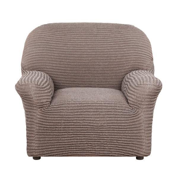 Чехол на кресло Дезерто Темно-коричневый