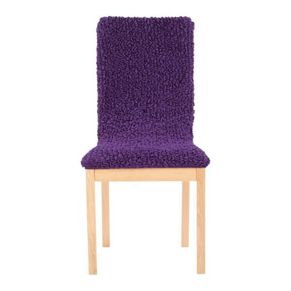 Чехол на стул Микрофибра Фиолетовый