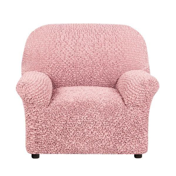 Чехол на кресло Микрофибра Пепельно-розовый