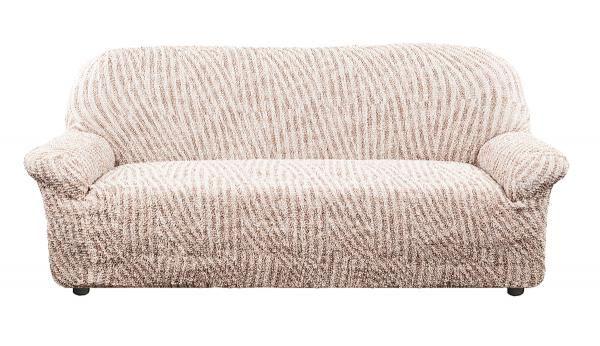 Чехол на 3-х местный диван Виста Милано бежевый