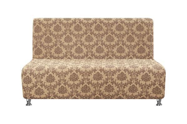 Фото #1: Чехол на 2-х местный диван без подлокотников Мадрид Шоколадный