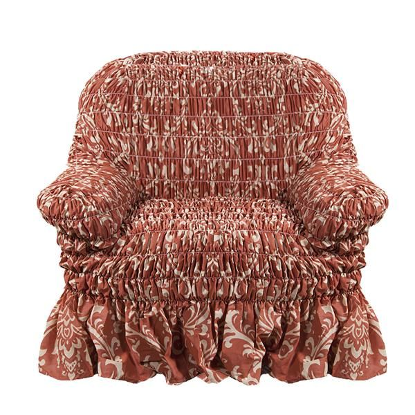 Чехол на кресло Фантазия Венеция Оранж