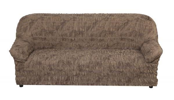 Фантазия Шоколад. Чехол на 3-х местный диван, без юбкиФантазия<br><br>