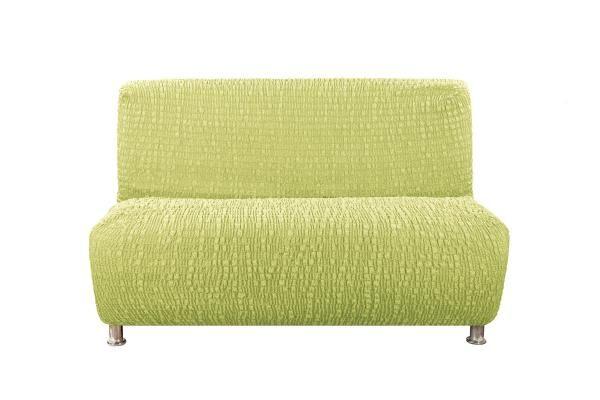 Чехол на 3-х местный диван без подлокотников Сиена Венера фисташковый