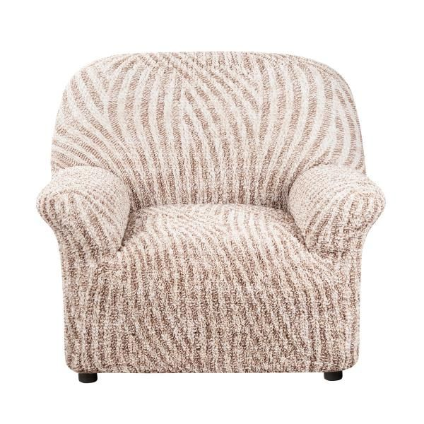 Чехол на кресло Виста Милано бежевый