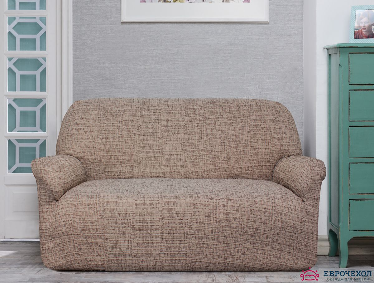 Чехол на диван Ektorp. Еврочехол на 2-х местный диванЧехлы на типовые диваны<br><br>
