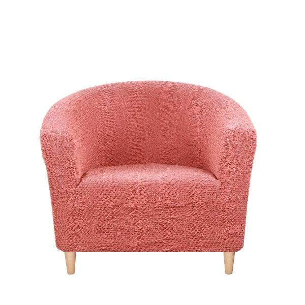Чехол на кресло-ракушку Альба Терракотовый
