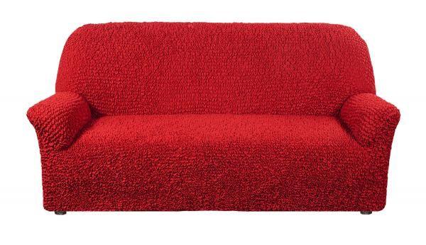 Микрофибра Красный. Чехол на 3-х местный диванМикрофибра<br><br>