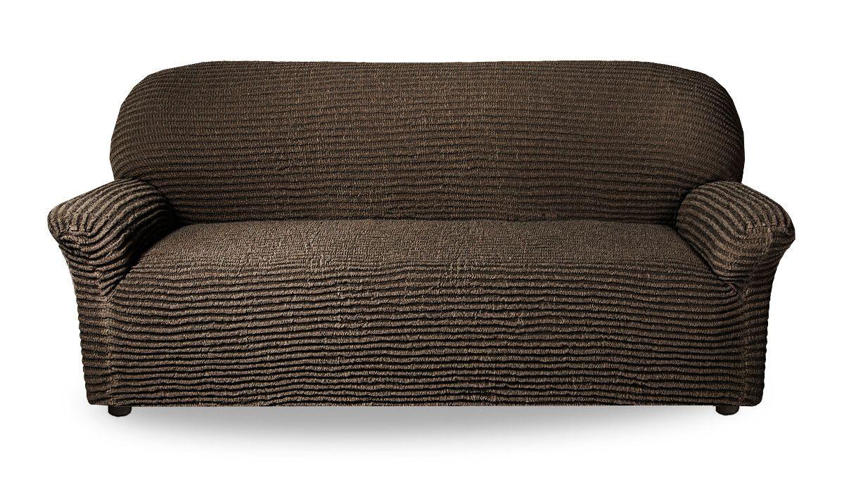 Чехол на 3-х местный диван Дезерто Темно-коричневый