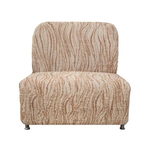 Купить со скидкой Чехол на кресло без подлокотников Виста Элегант Крем