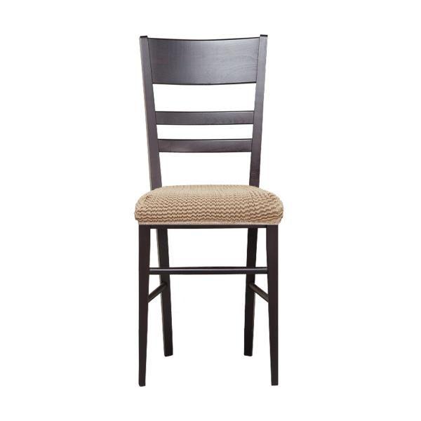 Купить со скидкой Гламур Беж. Чехол на сиденье стула (2 штуки)