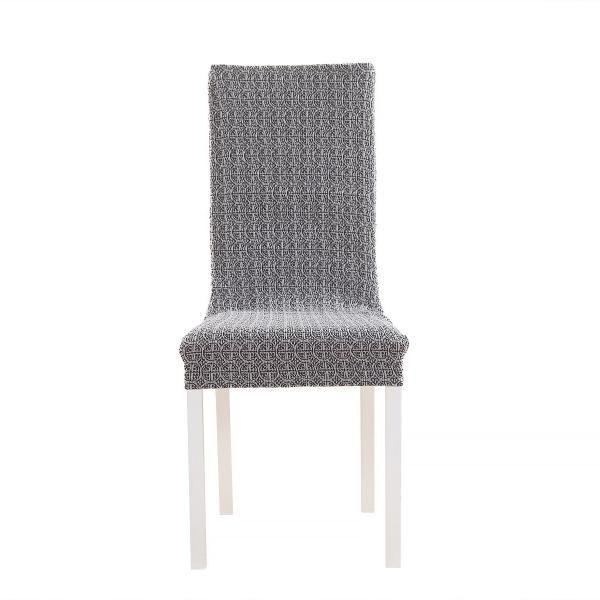 Коста Серый. Чехол на стул со спинкой 50 см (2 штуки)Коста<br><br>