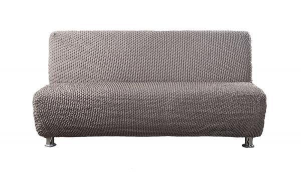 Элеганте Коричневый. Чехол на 3-х местный диван без подлокотниковЭлеганте<br><br>