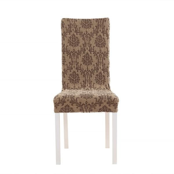 Мадрид Шоколадный. Чехол на стул со спинкой 50 см (2 штуки)Мадрид<br><br>