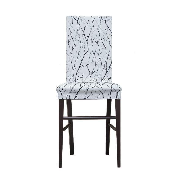 Чехол на стул со спинкой 40 см (2 штуки) Ванесса Сакура