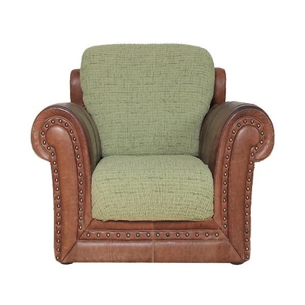 Чехол на подушку кресла  (2 штуки) Плиссе Фисташковый