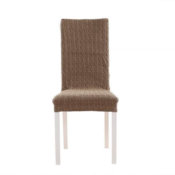 Коста Шоколадный. Чехол на стул со спинкой 40 см (2 штуки)Коста<br><br>