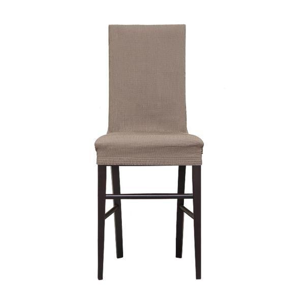 Рустика Бежевый. Чехол на стул со спинкой 40 см (2 штуки)Main<br><br>