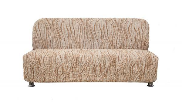 Купить со скидкой Чехол на 3-х местный диван без подлокотников Виста Элегант Крем