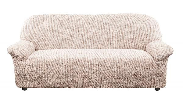 Купить со скидкой Чехол на 3-х местный диван Виста Милано бежевый