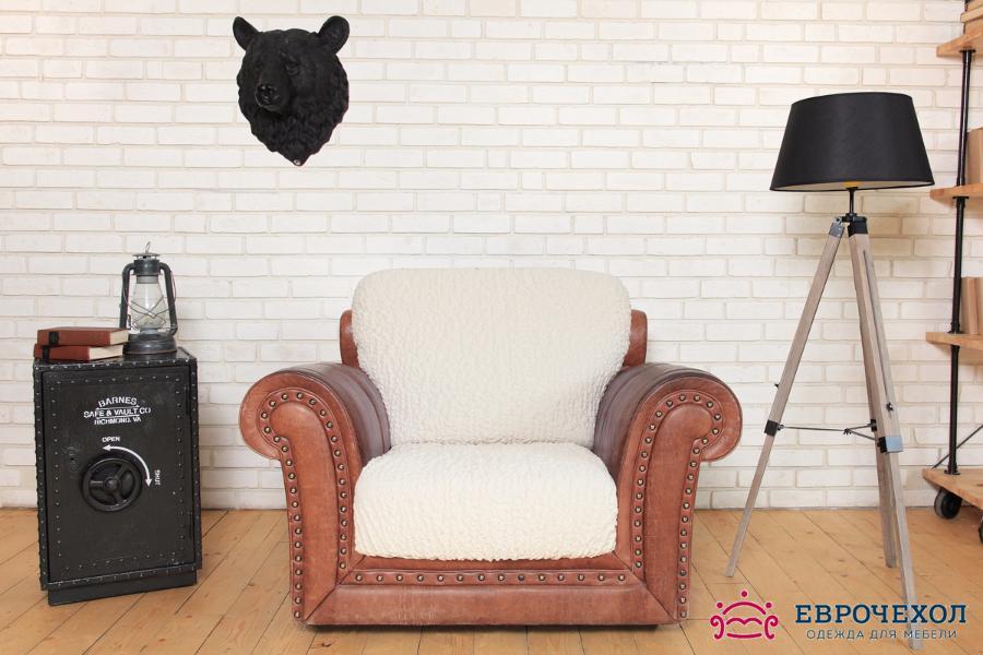 Модерн Шампань. Чехол на подушки кресла (2 штуки)Чехлы на подушки для кресел<br>Чехол «Шампань» идеально подойдет для тех, кто хочет защитить свою мебель от постоянных воздействий. Этот еврочехол, благодаря прочности ткани, станет идеальным решением для владельцев домашних животных. Кроме того, состав ткани гипоаллергенен, а потому б...<br>
