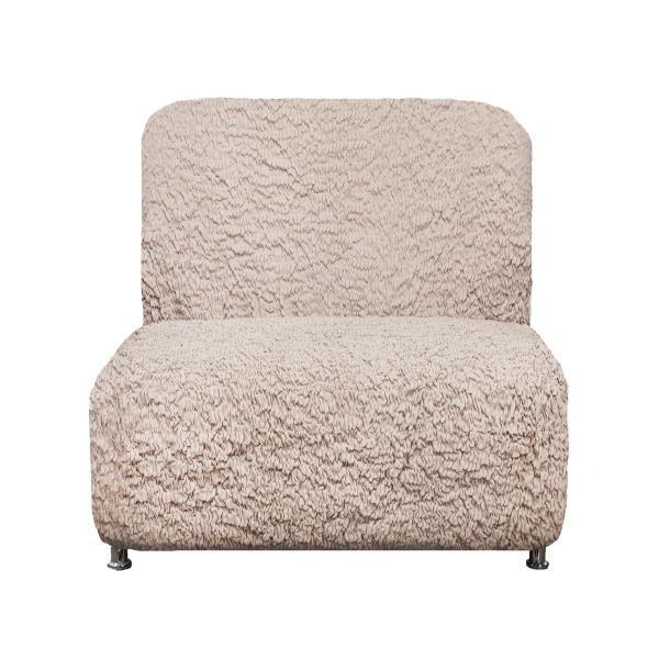 Чехол на кресло без подлокотников Модерн Шампань