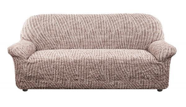 Чехол на 3-х местный диван Виста Милано коричневый