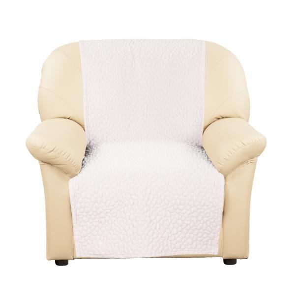 Купить со скидкой Накидка на кресло Ривьера Кремовый