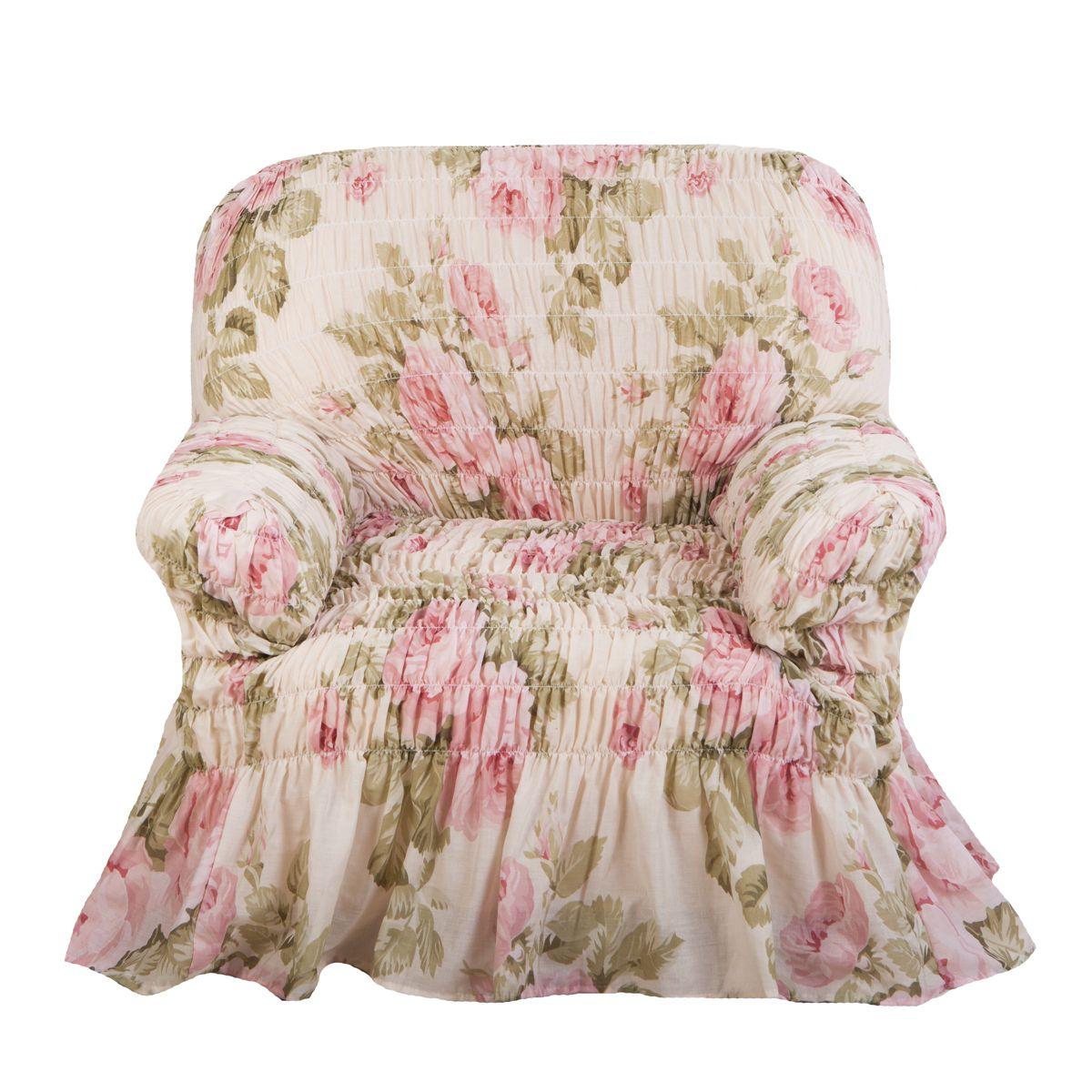 Фантазия Чайная роза. Чехол на креслоФантазия<br><br>