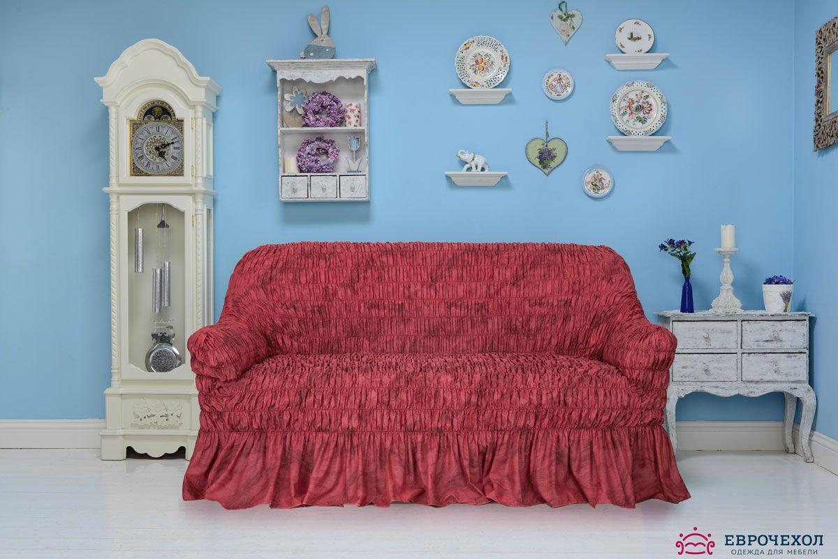 Чехол на диван в стиле Прованс. Чехол на 3-х местный диванЧехлы на типовые диваны<br><br>