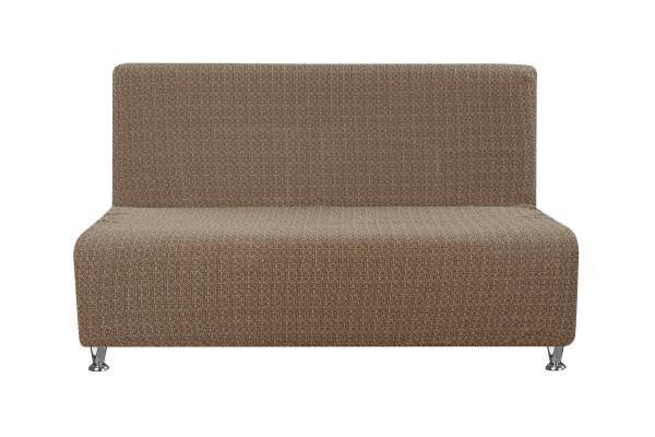 Купить со скидкой Чехол на 2-х местный диван без подлокотников Коста Шоколадный